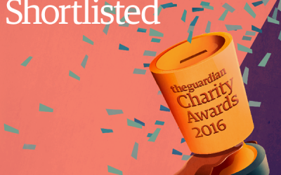 WKBS shortlisted for Guardian Charity Award 2016!