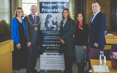Supporting Friendships Launch