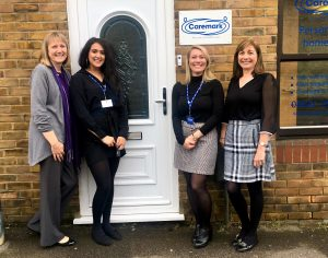 Caremark's 'Chattering Chums' Cafe @ Caremark
